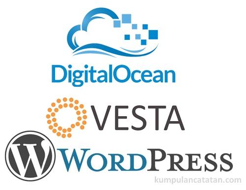 Cara Instalasi Wordpress di Kontrol Panel Vesta CP