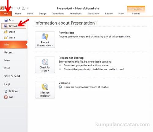 Cara Konversi File Powerpoint ke PDF (1)