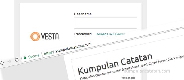 Cara Install Sertifikat SSL Gratis Lets Encrypt di VestaCP (Linux Ubuntu)