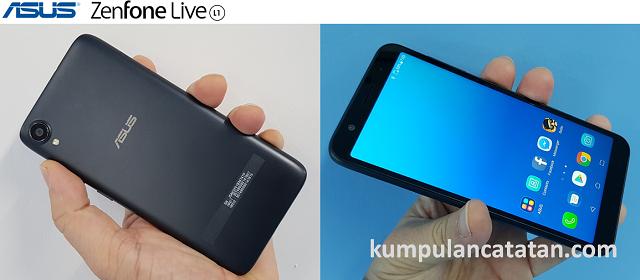 Harga dan Spesifikasi ASUS Zenfone Live L1 ZA550KL