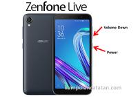 Cara Mengambil Screenshot pada ASUS Zenfone Live