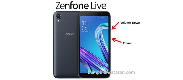 Cara Mengambil Screenshot Zenfone Live L1