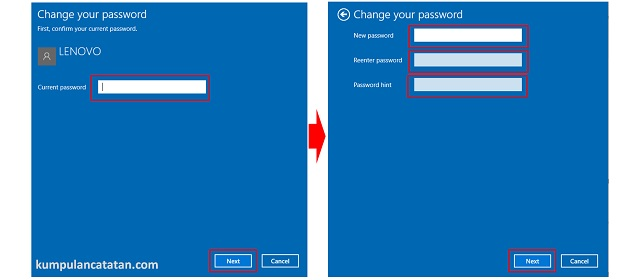 Cara Mengganti Password di Windows 10