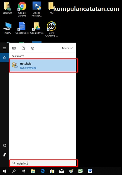 cara menghilangkan password di windows 10 pada laptop dan komputer