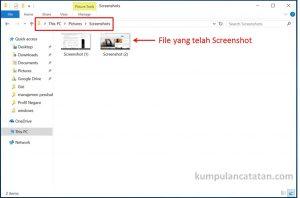 lokasi file screenshot