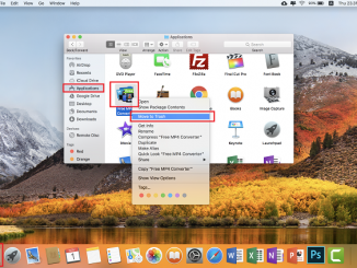 Move to Trash - Uninstall Aplikasi Macbook (Mac OS)
