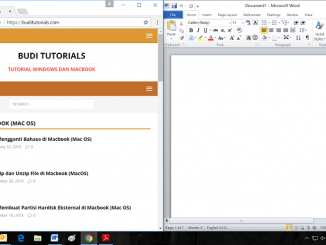 Cara Melakukan Split Screen pada Windows 10