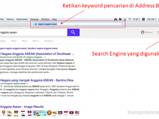 Cara Menggantikan search engine pada safari macbook