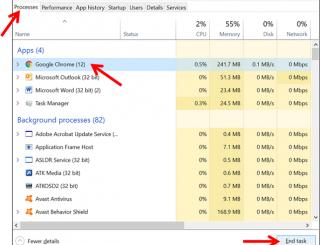 Cara Menutup Paksa Aplikasi di Windows 10 pada Laptop atau Komputer (PC) dengan Task Manager