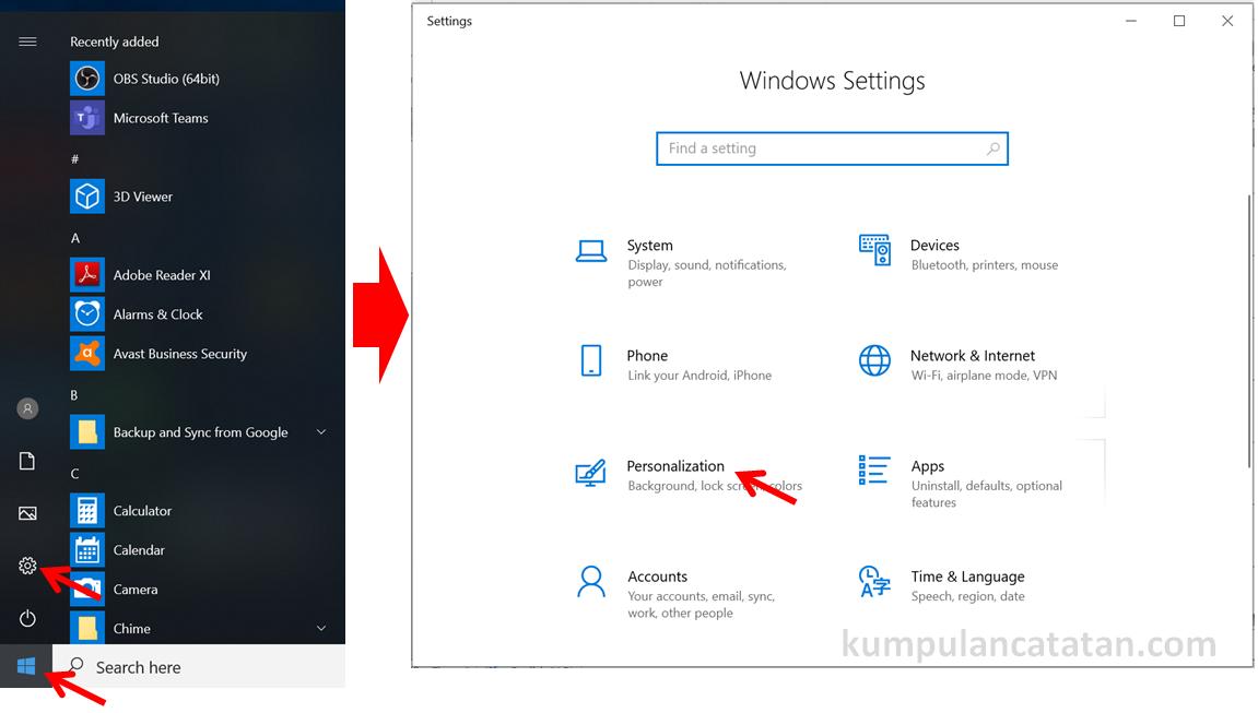 Cara Mengganti Wallpaper Windows 10 Laptop Dan Desktop