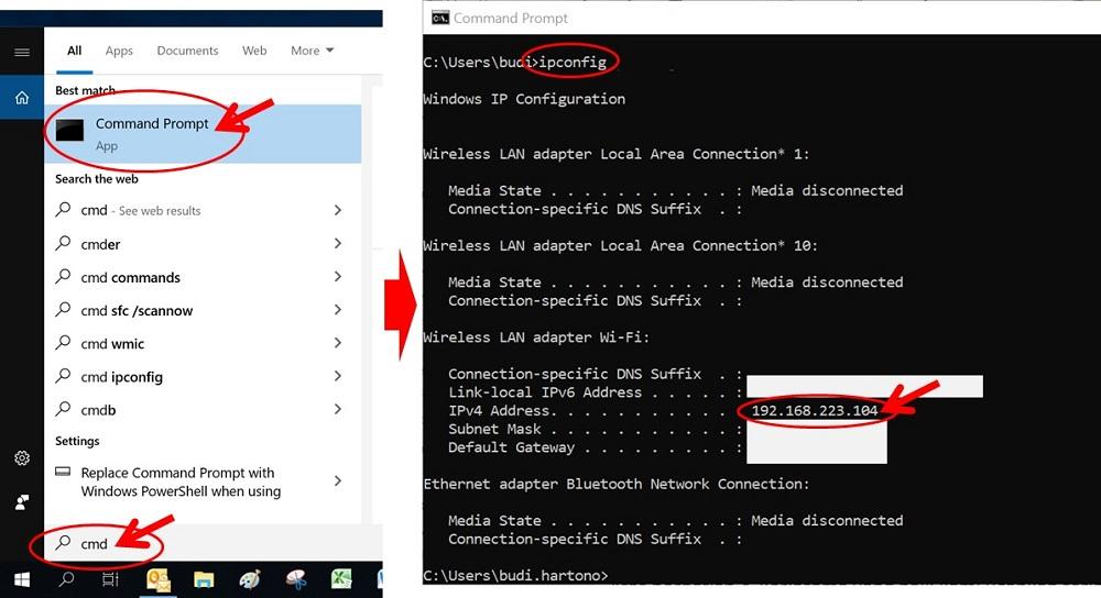 Cara Mengetahui IP Address di Laptop Windows 10 dengan Command Prompt