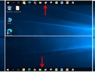 cara mengganti posisi taskbar windows 10 (ATAS BAWAH KIRI KANAN)